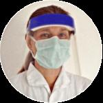 Dr. med. vet. Karola Lahrmann - Heilpraktikerin - mit Coronaschutz